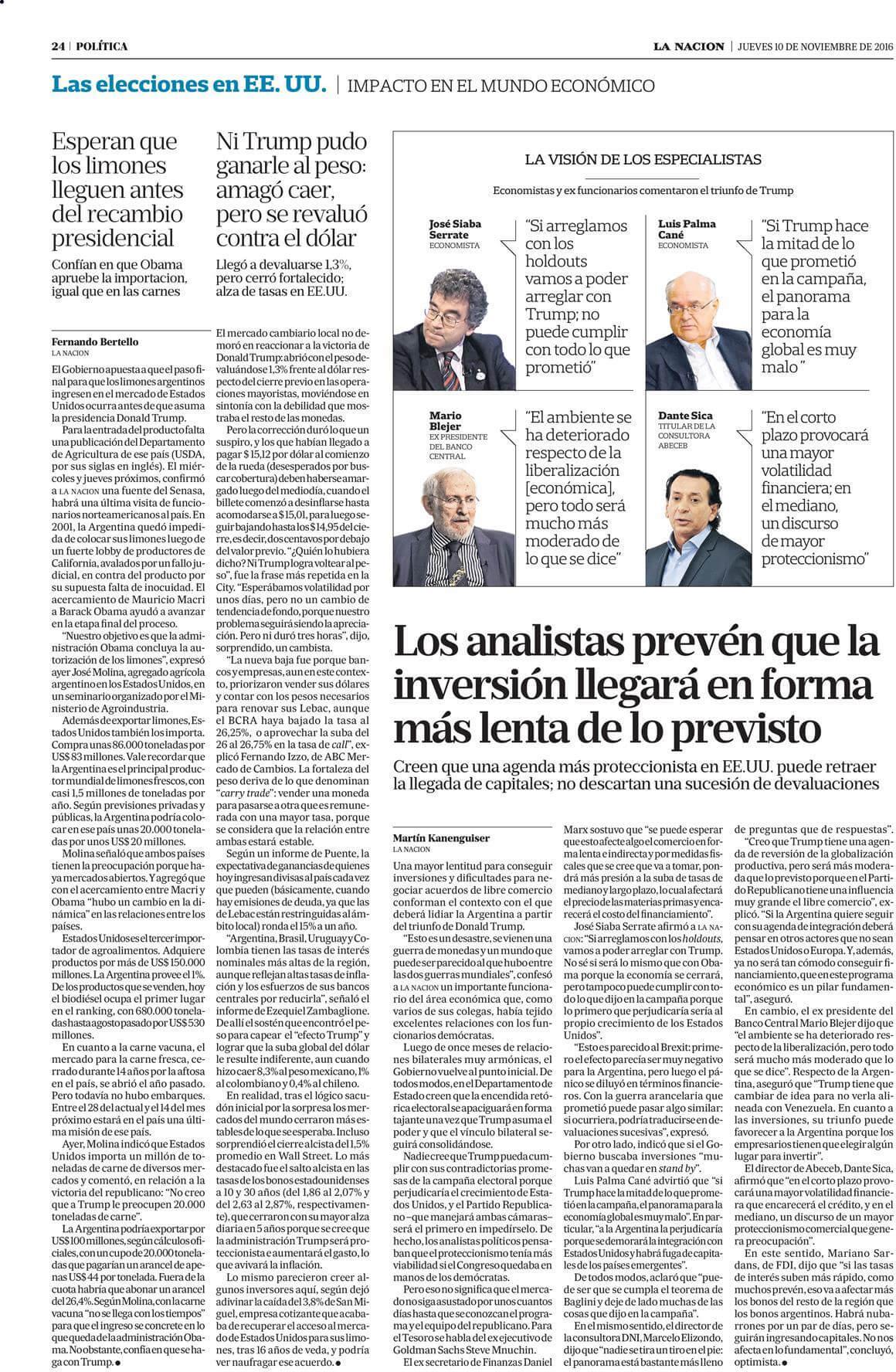 La Nación 10-11